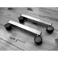 Ніжки для обігрівачів з високоякісної нержавіючої сталі (2шт.) | Smart Install